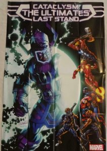 CATACLYSM THE ULTIMATES LAST STAND Promo Poster 24 x 36 2013 MARVEL Galactus 294