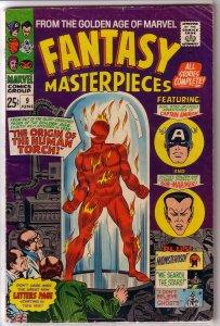 Fantasy Masterpieces   vol. 1   # 9 GD/VG (rep. CA #10, MC #1)