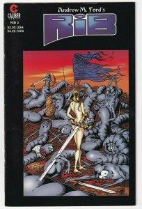Rib #3 October 1997 Caliber Comics Andrew M Ford