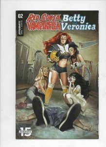 RED SONJA VAMPIRELLA meet Betty and Veronica #2, VF+, She-Devil, 2019
