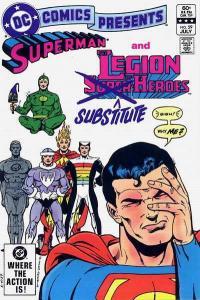 DC Comics Presents #59, VF+ (Stock photo)