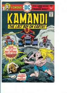 Kamandi, The Last Boy On Earth  #37 Jan. 1976 (VF)