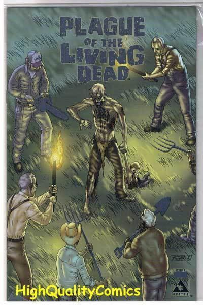 PLAGUE of the LIVING DEAD #6, VF+, Zombies, LIMITED, 2007, more Horror in store