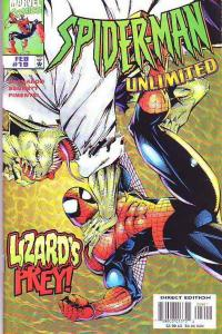 Spider-Man Unlimited #19 (Feb-98) NM Super-High-Grade Spider-Man