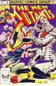 New Mutants (1983 series) #6, VF- (Stock photo)