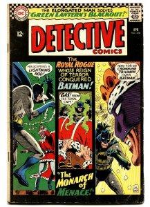 DETECTIVE COMICS #350-BATMAN AND ROBIN-1966 VG+