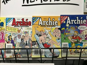 ARCHIE DIGEST MAGAZINE LOT of 8 Early-Mid 2000's FINE Condition! #1