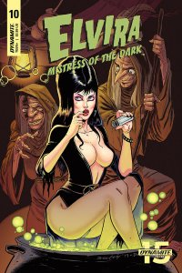 Elvira Mistress Of The Dark #10 Cvr A Seeley (Dynamite, 2019) NM