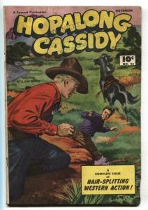 Hopalong Cassidy #25 1948-Fawcett-William S Boyd-VG