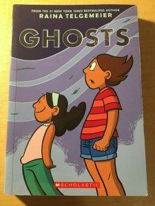 Ghosts Scholastic Comic Book TPB Graphic Novel Raina Telgemeier Teenage MFT2
