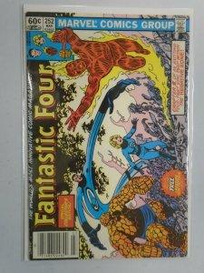Fantastic Four #252 Newsstand edition 5.0 VG FN No tattoz insert (1983)