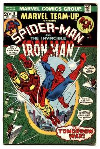 Marvel Team-Up #9 1973- Spider-man Iron Man Bronze Age comic book