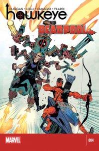 2014 Hawkeye vs. Deadpool #4