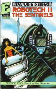 Robotech II: The Sentinels Cyberpirates #2 VF; Eternity | save on shipping - det
