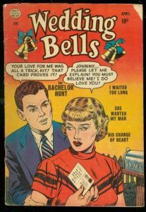 WEDDING BELLS #2 1954-QUALITY COMICS-ROMANCE-NICE ART VG