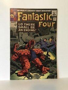 Fantastic Four #43- Frightful Four App.