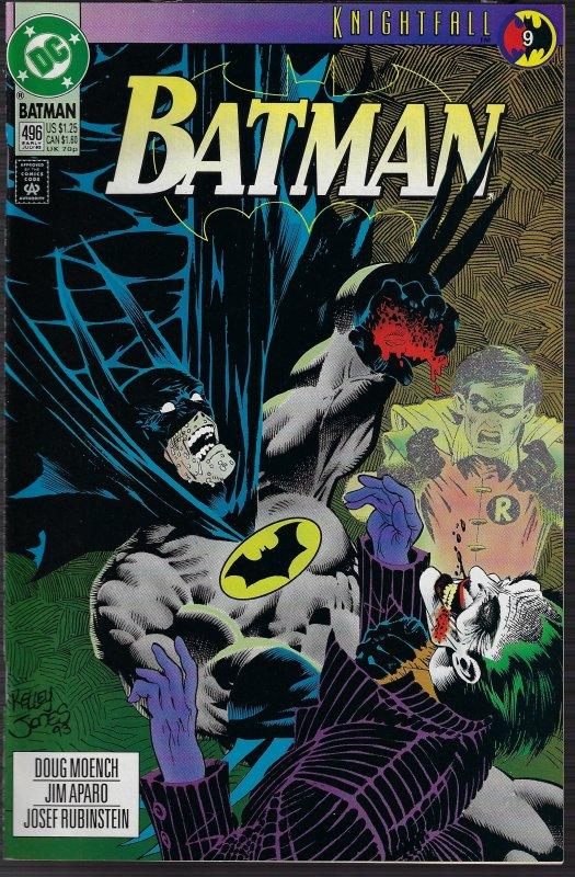 Batman #496(DC, 1993) NM