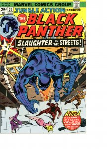 Jungle Action 20 VF Black Panther