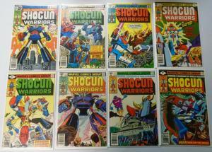 Shogun Warriors, Near Set:#1-19 Missing#20, Average 6.0/FN (1979+1980)
