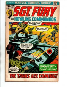 Sgt. Fury & His Howling Commandos #104 - Combat Kelly - 1972 - FN/VF