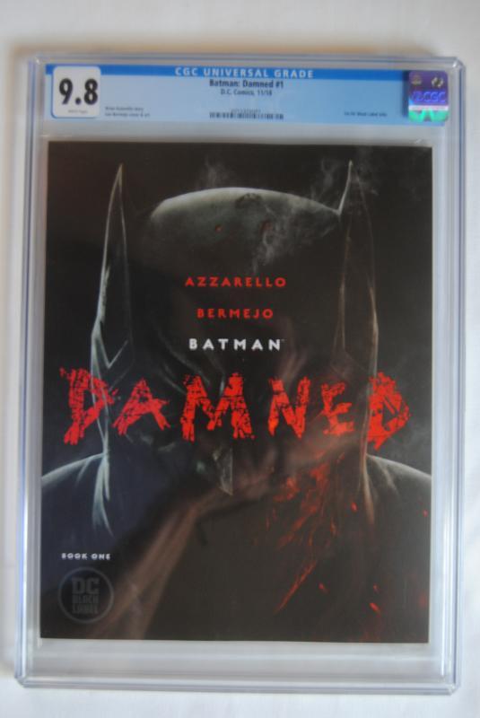 Batman, Damned, 1, 9.8