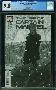 Life of Captain Marvel #2 CGC 9.8 2ND Print -1 of Only 2 Highest Graded- 11/2018