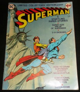Superman Limited Collectors Treasury Edition C-38 (DC, 1975) VG