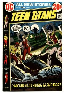 Teen Titans #41-Comic Book DC 1972-Robin-Wonder Girl-horror cover