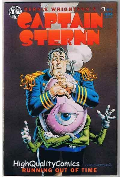 CAPTAIN STERN 1, VF/NM, Bernie Wrightson, Heavy Metal, 1993, more BW in store