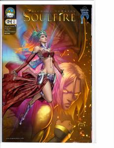 Soulfire (2009) 9 Cover B NM- (9.2)