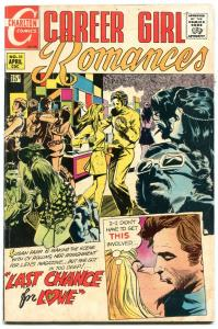 Career Girl Romances #56 1970- Hippie party cover- drug art? FN-