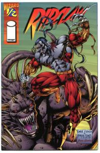 RIPCLAW #1/2, VF/NM, Wizard, SDCC Variant, 1995, David Finch, Gold foil Toucan