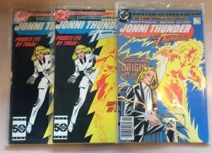 Jonni Thunder AKA Thunderbolt 1-4 VF/NM Lot Full Run Complete Set Plus Extras