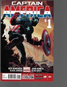 Captain America #1 (Marvel, 2013) NM