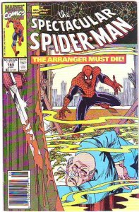 Spider-Man, Peter Parker Spectacular #165 (Aug-90) NM/NM- High-Grade Spider-Man