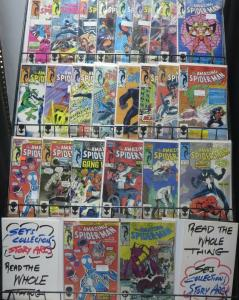 AMAZING SPIDER-MAN COLLECTION TWO! 24 BOOKS FROM #253-292!FINE!HOBGOBLIN!