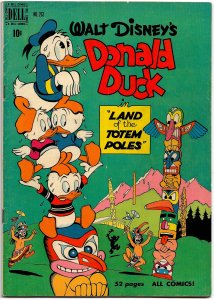 FOUR COLOR #263 DONALD DUCK IN LAND OF THE TOTEM POLES Feb '50 VFN All Barks!