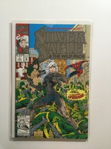 Silver Sable And The Wild Pack 1 2 Near Mint Nm Marvel
