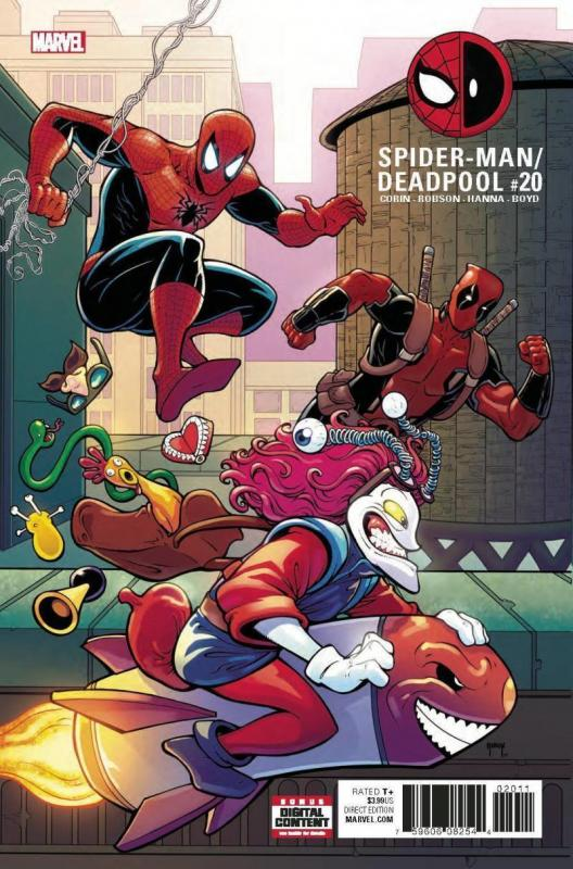 SPIDER-MAN DEADPOOL #20, NM, 2016 2017, Bromantic, more in store, Marvel