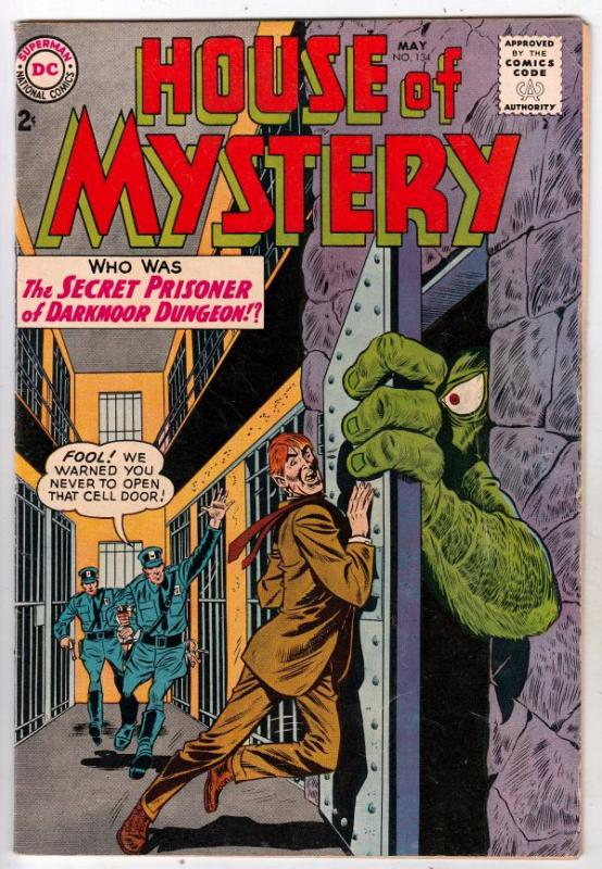 House of Mystery #134 (May-63) VF High-Grade