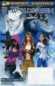 Worlds of Aspen FCBD #2012 VF/NM; Aspen | save on shipping - details inside