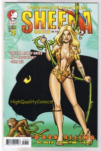 SHEENA QUEEN of the JUNGLE DARK RISING 2, NM+, Femme, 2008, more in store