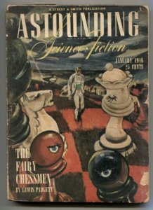 Astounding Science-Fiction Pulp January 1946- Fairy Chessmen G
