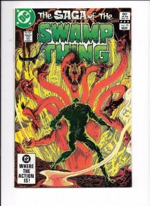 SAGA OF THE SWAMP THING #13, VF/NM, Tom Yeates, DC 1982 1983  more DC in store