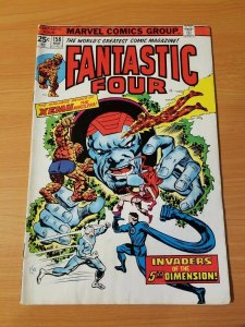 Fantastic Four #158 ~ FINE - VERY FINE VF ~ 1975 MARVEL COMICS
