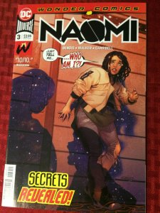 Naomi #3  DC Universe Wonder Comics 2019 Near Mint 2nd Printing