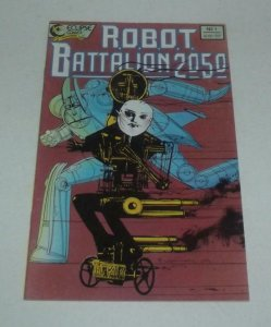 ROBOT BATTALION 2050 #1, VF+, Giants, Eclipse, 1988 more Indies in store