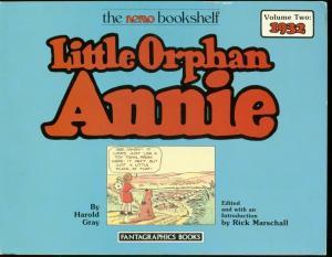 LITTLE ORPHAN ANNIE VOL 2-1932 REPRINTS-HAROLD GRAY-TPB FN