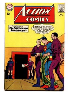 ACTION COMICS #319 comic book 1964-SUPERMAN-SUPERGIRL-KRYPTONITE VF-