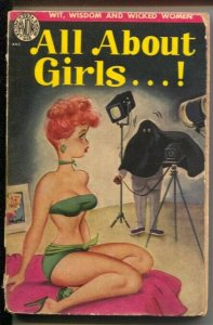 All About Girls...! #357 1951-cartoons-jokes-gags-Reamer Keller-Bill Wenzel-VG